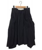 COMME des GARCONS(コムデギャルソン)の古着「スカート」|ブラック