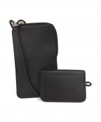 UNIVERSAL PRODUCTS.(ユニバーサルプロダクツ)の古着「TOMO NARIAI SLING POUCH」 ブラック