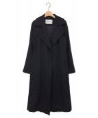 MaxMara(マックスマーラ)の古着「マニュエラコート」|ブラック