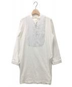 ()の古着「スタンドカラーアンダーシャツ」|ホワイト