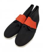 FUMIKA UCHIDA(フミカ ウチダ)の古着「ナイロンベルクロシューズ」|ブラック