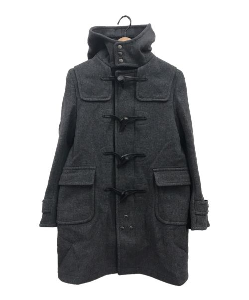 SCYEBASICS(サイベーシックス)SCYEBASICS (サイベーシックス) ウールカシミヤダッフルコート グレー サイズ:Mの古着・服飾アイテム