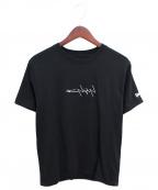 Yohji Yamamoto pour homme(ヨウジヤマモトプールオム)の古着「×New Era 20SS バックプリントTシャツ」|ブラック