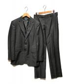 ()の古着「ウールモヘアシャドーオルタネイトスーツ」 グレー