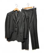TAKEO KIKUCHI(タケオキクチ)の古着「ウールモヘアシャドーオルタネイトスーツ」 グレー