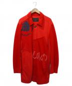 UNDERCOVERISM(アンダーカバーイズム)の古着「スウェットコート」|レッド