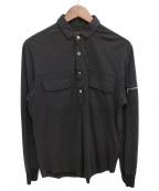UNDERCOVERISM()の古着「ドットプリントポロシャツ」|ブラック