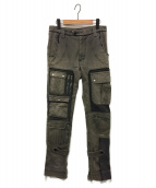 UNDERCOVERISM(アンダーカバーイズム)の古着「Cargo Pants 04AW But Beautiful」|カーキ