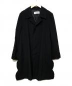 ROBE DE CHAMBRE COMME DES GARC(ローブドシャンブル コムデギャルソン)の古着「コート」 ブラック