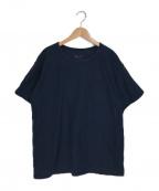 BONCOURA(ボンクラ)の古着「ポケットTシャツ」|ネイビー