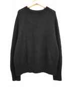 UNITED ARROWS TOKYO(ユナイテッドアローズトウキョウ)の古着「Mohair Blend Crewneck Sweater」|ブラック