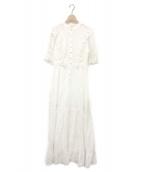 ()の古着「HALLEY DRESS」|ホワイト