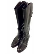 SARTORE(サルトル)の古着「ジョッキーブーツ」|ブラック