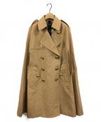 BURBERRY()の古着「トレンチケープコート」|ベージュ