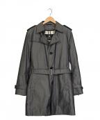 BURBERRY BLACK LABEL(バーバリーブラックレーベル)の古着「ライナー付トレンチコート」|グレー