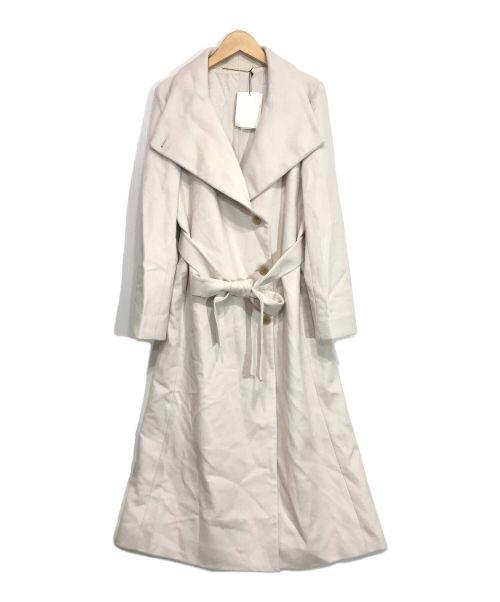 ROPE(ロペ)ROPE (ロペ) プレミアムカシミヤビーバーコート アイボリー サイズ:38の古着・服飾アイテム
