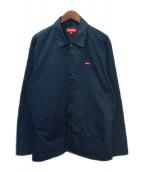 SUPREME(シュプリーム)の古着「Small Box Logo Shop Snap Jacke」|ネイビー