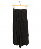 tricot COMME des GARCONS()の古着「ラップスカート」 ブラック