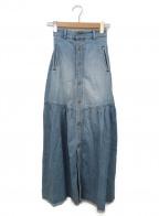 DOUBLE STANDARD CLOTHING(ダブルスタンダードクロージング)の古着「デニムマキシスカート」