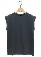 YLEVE(イレーヴ)の古着「オーガニックコットンノースリーブTシャツ」|ネイビー