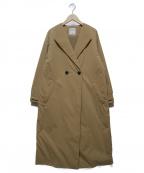HUMAN WOMAN(ヒューマンウーマン)の古着「撥水スパンライクタイプライターコート」|ベージュ