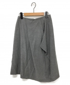 MORABITO(モラビト)の古着「アシンメトリースカート」|グレー