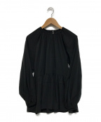 THE IRON(アイロン)の古着「ブラウス」 ブラック