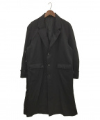 stein(シュタイン)の古着「New Structure Chester Coat」|ブラック
