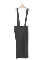 ()の古着「サスペンダー付パンツ」|ブラック