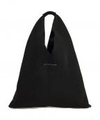 MM6 Maison Margiela(エムエムシックス メゾンマルジェラ)の古着「メッシュジャパニーズトートバッグ」|ブラック