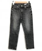 upper hights()の古着「デニムパンツ」|ブラック
