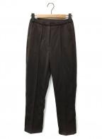 AKTE(アクテ)の古着「ピンタックジャージーパンツ」|ブラウン