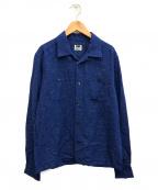 RATS(ラッツ)の古着「オープンカラーシャツ」 ブルー