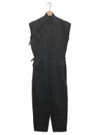 JUN MIKAMI(ジュン ミカミ)の古着「チャイナコンビネゾン」 ブラック