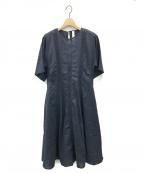 merlette(マーレット)の古着「DOMINICAレースパネルドレス」 ネイビー