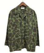 CELINE(セリーヌ)の古着「ミリタリーオーバーシャツ」