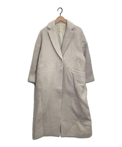 Plage(プラージュ)Plage (プラージュ) シャギーオーバーサイズコート ベージュ サイズ:36の古着・服飾アイテム