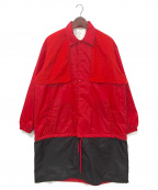 SWAGGER(スワッガー)の古着「LONG SWITCHED COACH JACKET」|レッド