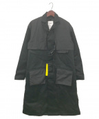 SWAGGER(スワッガー)の古着「LONG ENGINEER SWITHED COAT」|ブラック