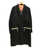 john undercover(ジョンアンダーカバー)の古着「15SS チェスターロングコート」|ブラック