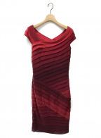 TADASHI SHOJI(タダシ ショージ)の古着「ドレス」|レッド
