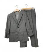 RING JACKET(リングジャケット)の古着「チェックセットアップスーツ」 グレー
