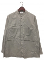()の古着「Pocket Vent Shirt」|ライトグレー