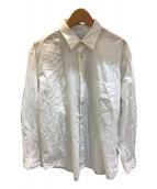 ()の古着「コットンブロードレギュラーカラーシャツ」 ホワイト