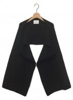 stein(シュタイン)の古着「MUFFLER SLEEVES」|ブラック