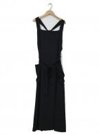 VONDEL(フォンデル)の古着「ジャンパースカート」|ブラック
