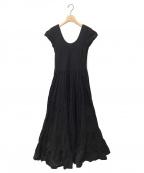 MARIHA(マリハ)の古着「草原の虹のドレス」|ブラック