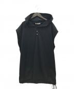 AEWEN MATOPH(イウエン マトフ)の古着「フレンチスリーブパーカー」 ブラック