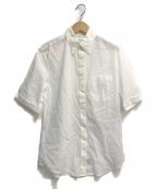 Maison Margiela 4(メゾンマルジェラ4)の古着「H/Sシアーシャツ」 ホワイト