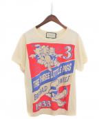GUCCI(グッチ)の古着「×Disney プリントTシャツ」|オフホワイト